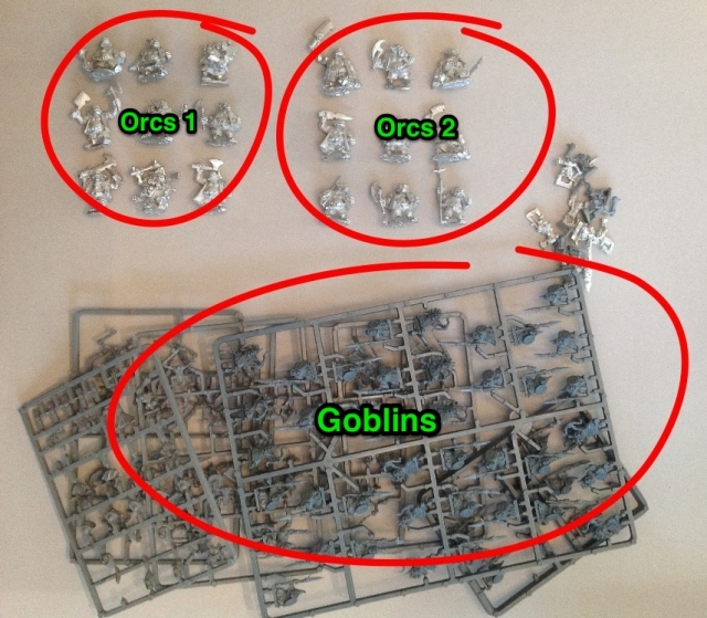 Orc army figs