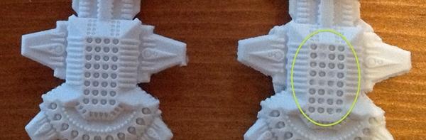Shaltari infilled detail