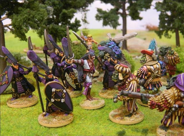 Quithnilian Elves vs Mercenaries