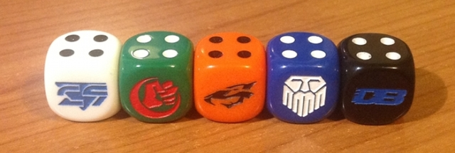 Team dice