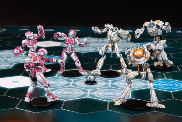 VS and robots