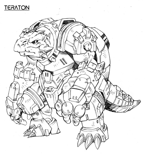 Teraton concept
