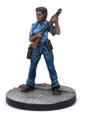 Eva painted model