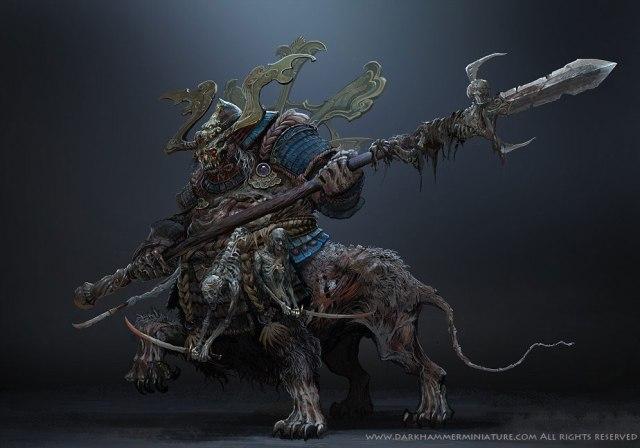 Bloodlust Tyrant art