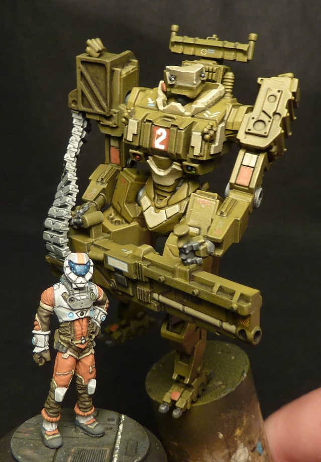 Scale mech from Dwartist