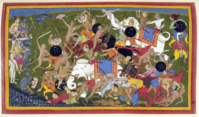 Battle at Lanka Ramayana Udaipur